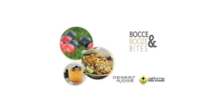 Bocce Booze Bites